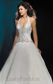 halter style wedding dresses halter wedding dresses suitable for the wedding day lustyfashion