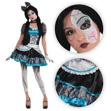 young girls halloween costume teen girls shattered doll halloween costume broken bell zombie