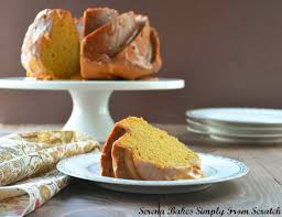 Pumpkin Cake Halloween by Pumpkin Spice Bundt Cake With Caramel Icing Serena Bakes Simply