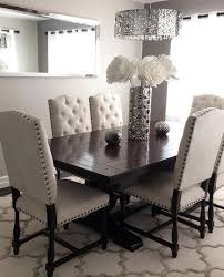 The Dinning Room These Pin Tuft Chairs Are Really Good For The Dining Room Not For