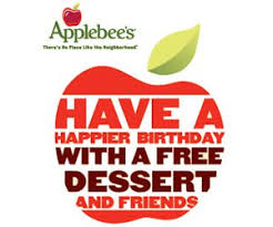 applebees coupons on phone free birthday treat at applebee s free product sles