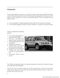 Bmw X5 2005 - bmw x5 2005 e53 workshop manual