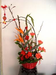 New Year Flower Decoration by Chinese Flower Arrangements Flower Flaire Chinese New Year
