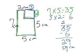 showme area of irregular shapes 4th grade