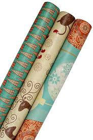 christmas wrapping paper sets k kraft vintage prints christmas kraft wrapping paper sets reindeer