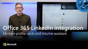 Linkedin And Resume Step By Step Demo Of Linkedin Word Resume Assistant Plus New