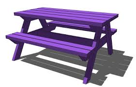 How To Build A Wooden Picnic Table by Ana White Pallet Picnic Table How To Diy Projects
