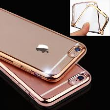 iphone 6 plus black friday ultra thin rose gold plating crystal clear case for iphone 6 6s