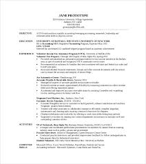resume template mba master of business administration resume