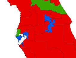 Florida Election Map by Florida U0027s New Final State Senate Map Mattsmaps