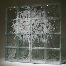 etched glass window wall blocks nationwide supply columbus