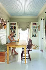 restored cottage relcation makeover southern living multifunctional entry