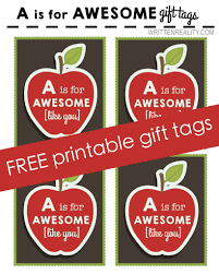 free printable apple tag written reality