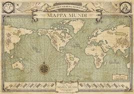 Harry Potter Map Mappa Mundi Harry Potter Wiki Fandom Powered By Wikia