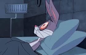 bugs bunny gif insomnia nosleep bugsbunny discover u0026 share gifs