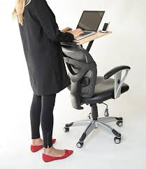 Office Chair For Standing Desk Transform Your Chair Into A Healthy Standing Desk Most Affordable