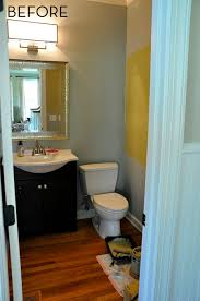 before and after 61 powder room makeover curbly