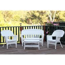tortuga portside outdoor pe wicker 4 piece patio seating set