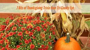 trivia thanksgiving blog tri county eye clinic