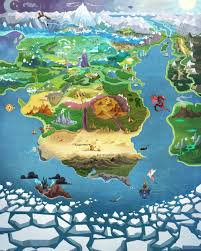 Huge World Map by Equestria Daily Mlp Stuff Map Of Equestria Updated For The