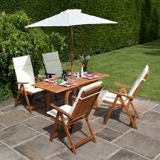 billyoh 4 seater windsor reclining chair set wooden garden