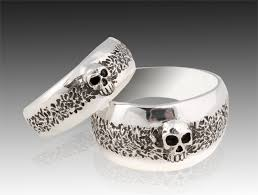 skull wedding cake toppers breathtaking mens skull wedding rings 13 with additional wedding