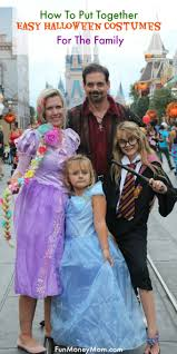 Disney Family Halloween Costume Ideas by Easy Halloween Costumes For The Whole Family Fun Money Mom