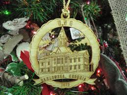 university of north georgia souvenir ornament with stand