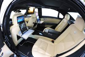 bentley interior back seat brabus s class ipad 2 u003d 219 mph video conferencing car and
