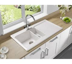 Astracast Ceramic Kitchen Sinks  Bowl White Gloss Includes - Ceramic kitchen sink