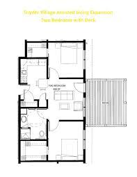 Two Bedroom Floor Plan Apartment Floor Plans Snyder Village