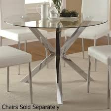 vance silver metal dining table steal a sofa furniture outlet