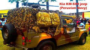 kia military jeep kia km 500 jeep beiben truck 2528 6x6 peruvian navy youtube
