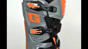 gaerne motocross boots 2016 gaerne sg12 boots orange black youtube
