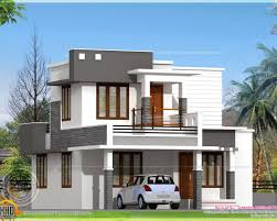 kerala home design flat roof elevation roof small modern house plans flat roof floor home design