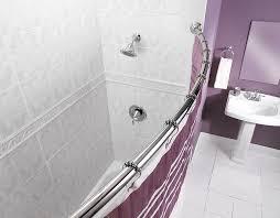 Bathroom Shower Rods Amazon Com Moen Csr2165ch 5 Foot Fixed Length Curved Shower Rod