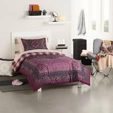 full comforter on twin xl bed by design 5 piece prairie grunge twin xl comforter dorm kit