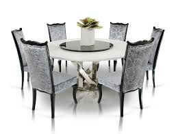 Black Dining Table A U0026x Spiral Modern Round White Dining Table With Lazy Susan