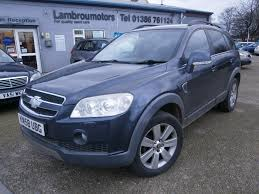 chevrolet captiva 2014 used chevrolet captiva grey for sale motors co uk