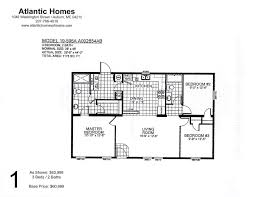 3 bedroom single wide mobile home floor plans double wide lot models atlantic home solutions