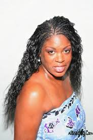 black braids hairstyles for women wet and wavy wet n wavy micro braids hairstyles triple weft hair extensions
