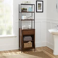 Bathroom Tower Shelves Adorable Linen Cabinets Towers You Ll Wayfair Of Bathroom