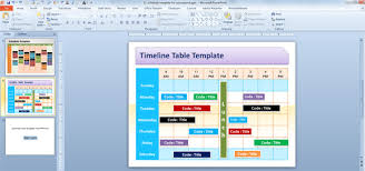 schedule template powerpoint free gantt chart template for
