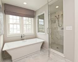 glass tile bathroom designs unlikely installation accent ideas