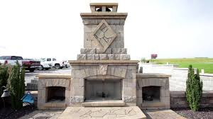 Fireplace Patio by Outdoor Living Smoker Fireplace Patio Youtube