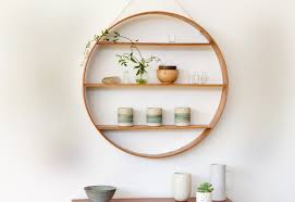 affordable small circle bookshelves that can be applied on the