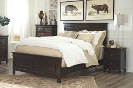 alexee queen panel bed ashley furniture homestore