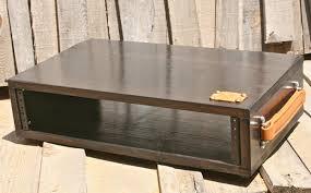 2u desktop studio rack with handles