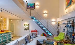 Glass Banister Staircase Glass Stair Treads Downing Designs