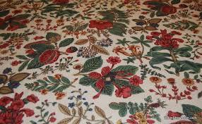 Vintage Drapery Fabric Wb140 Vintage Schumacher Williamsburg Botanical Classic Chintz